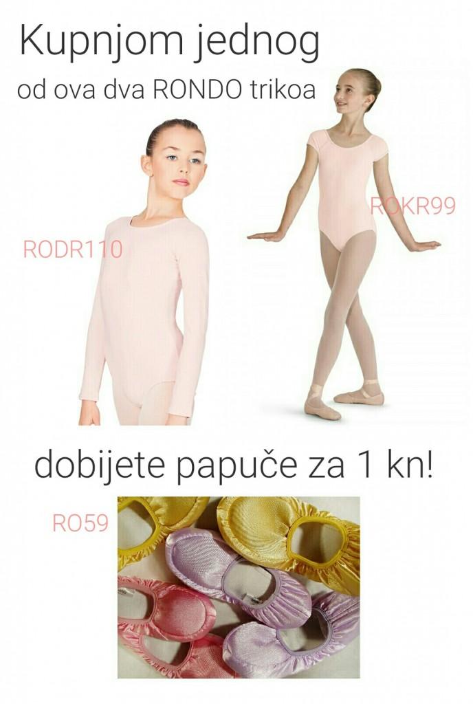 Letak triko + papuče RO59plus